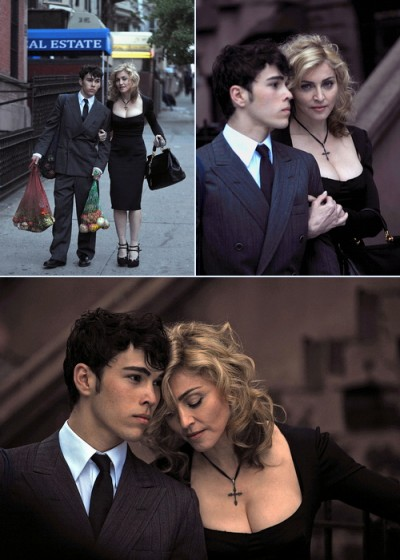 Madonna and Max Schneider for Dolce and Gabbana