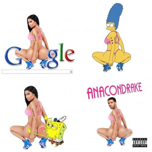 Nicki Minaja Anaconda Meme