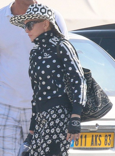 Madonna out and about in Cannes - 7 August 2014 (2)