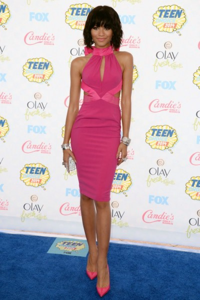 Zendaya at the 2014 Teen Choice Awards