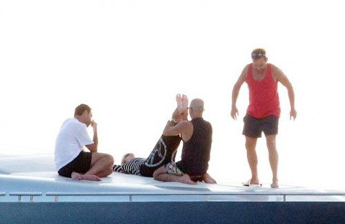 Madonna out and about in Ibiza - 20 August 2014 - Pictures - Update 2 (4)