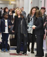 Madonna spotted at JFK airport, New York  - 27 August 2014 - Pictures (1)
