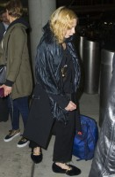 Madonna spotted at JFK airport, New York  - 27 August 2014 - Pictures (4)