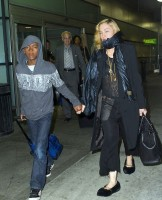Madonna spotted at JFK airport, New York  - 27 August 2014 - Pictures (5)
