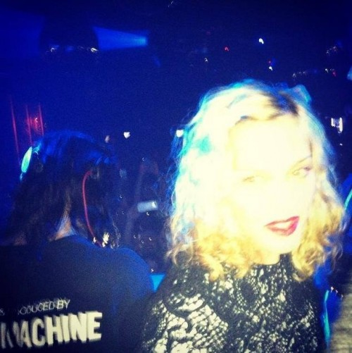 Madonna, Diplo and Skrillex at Jeremy Scott's After Party at the Space Ibiza, New York - 10 September 2014 - Pictures & Video (4)