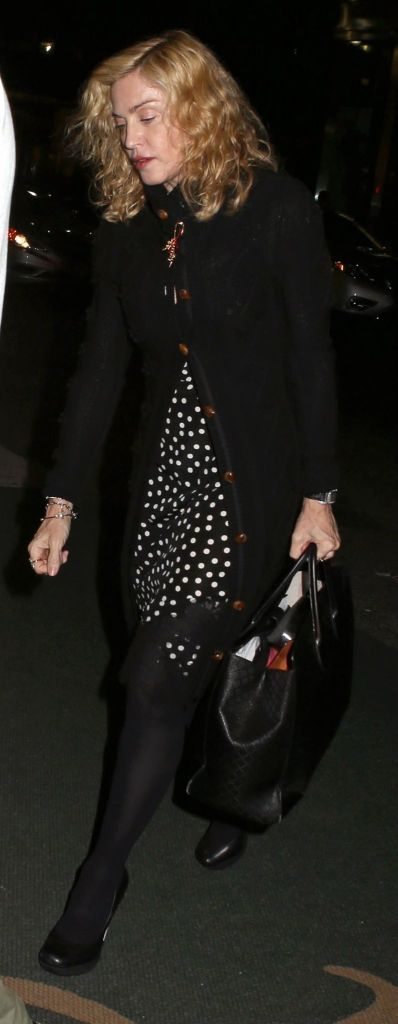 Madonna out and about in New York - 3 October 2014 (1)