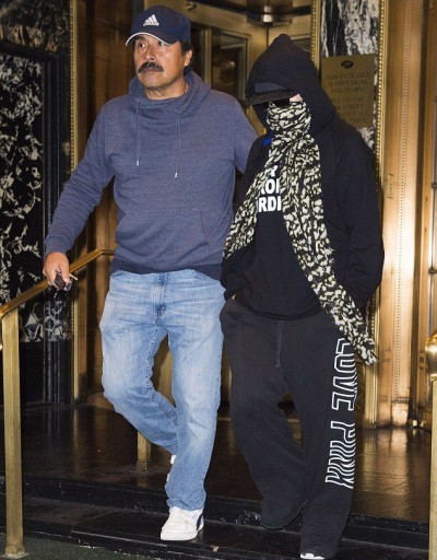 Madonna out and about in New York - 3 October 2014 (5)