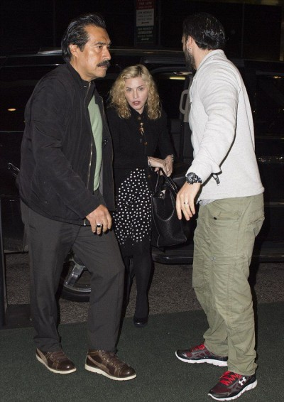 Madonna out and about in New York - 3 October 2014 (6)