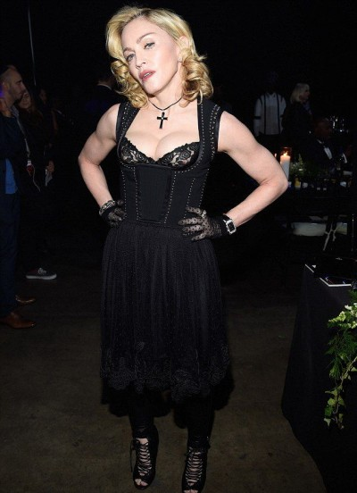 Madonna at the Keep A Child Alive's 11th Annual Black Ball, New York - 30 October 2014 (1)