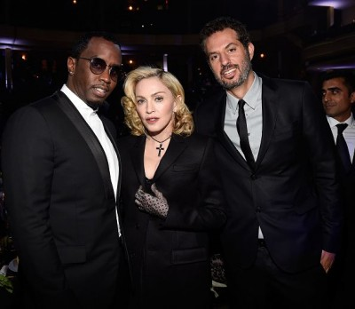 Madonna at the Keep A Child Alive's 11th Annual Black Ball, New York - 30 October 2014 (15)