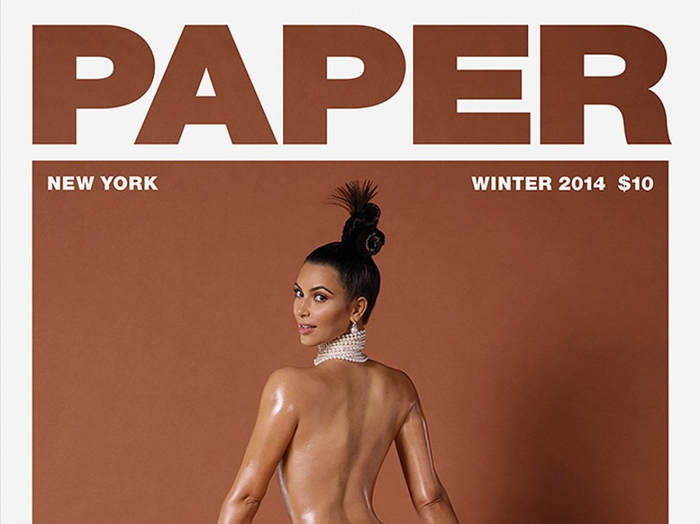 Madonna Kim Kardashian Paper Magazine