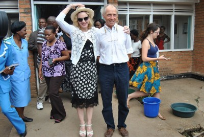 Madonna visits Queen Elizabeth Central Hospital in Blantyre, Malawi (1)