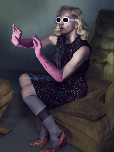 Madonna by Alas & Piggot for Interview Magazine - Full Spread and Interview (11)
