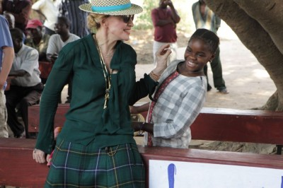 Madonna in Kasungu, Malawi - 30 November 2014 (4)