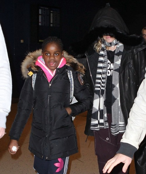 Madonna out and about in New York - 23 December 2014 (2)