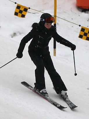 Madonna spotted skiing in Gstaad, Switzerland - 2 January 2015 (7)