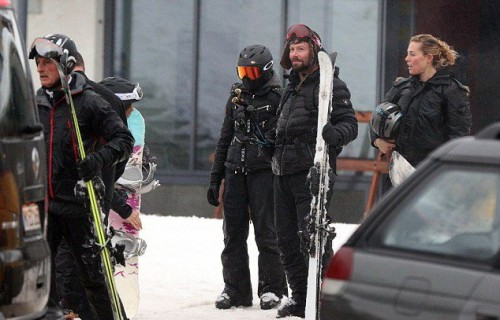 Madonna spotted skiing in Gstaad, Switzerland - 2 January 2015 (9)