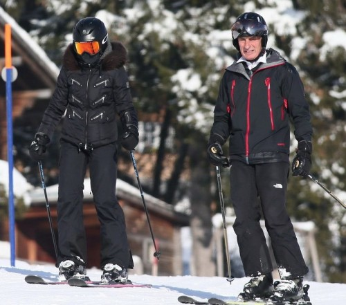 Madonna spotted skiing in Gstaad, Switzerland - 31 December 2014 (8)