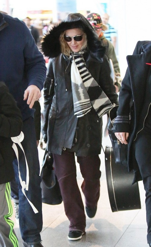 Madonna back in New York - 7 January 2014 - Pictures (1)