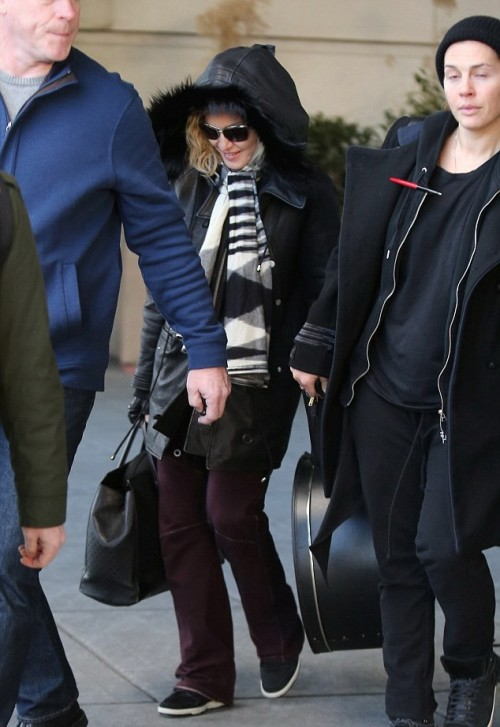 Madonna back in New York - 7 January 2014 - Pictures (3)