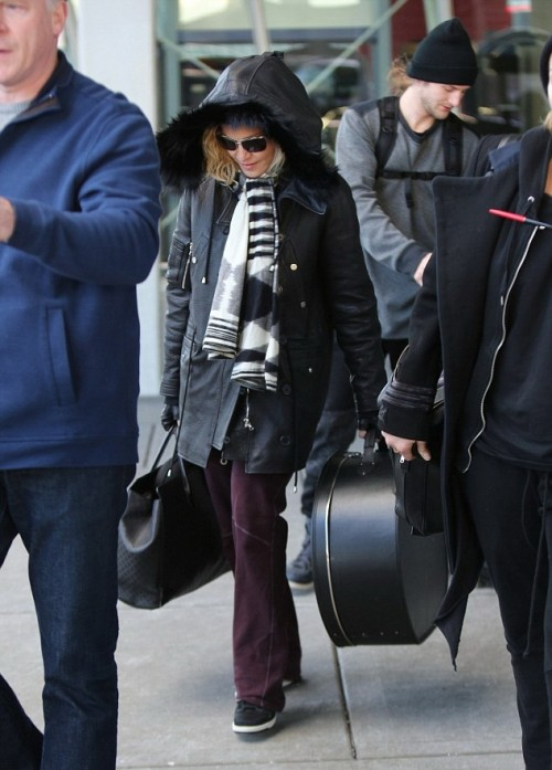 Madonna back in New York - 7 January 2014 - Pictures (4)