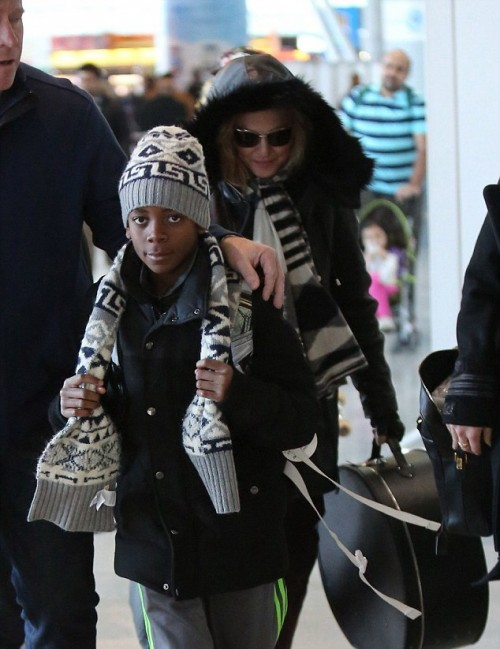 Madonna back in New York - 7 January 2014 - Pictures (5)