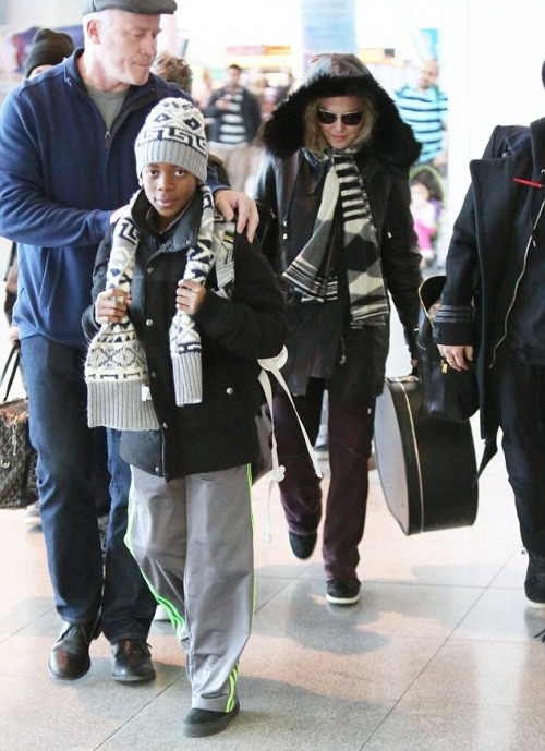 Madonna back in New York - 7 January 2014 - Pictures (6)