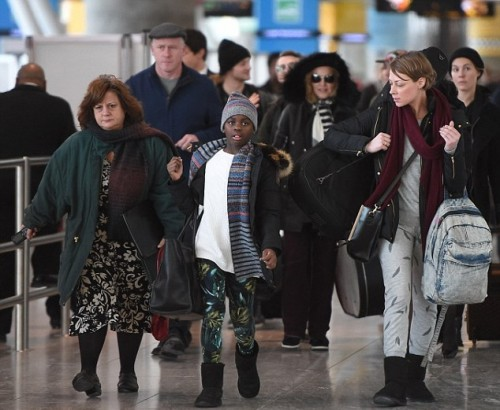 Madonna back in New York - 7 January 2014 - Pictures (7)