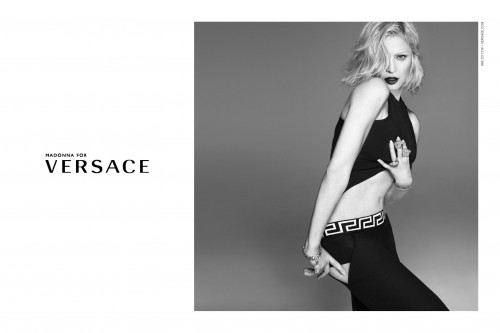 Madonna by Alas and Piggott for Versace  Spring 2015