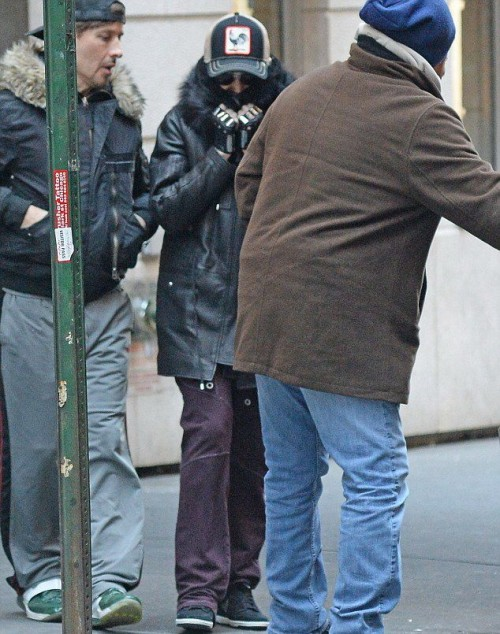 Madonna out and about in New York - 10 January 2015 (1)