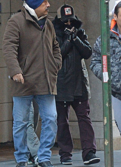 Madonna out and about in New York - 10 January 2015 (2)
