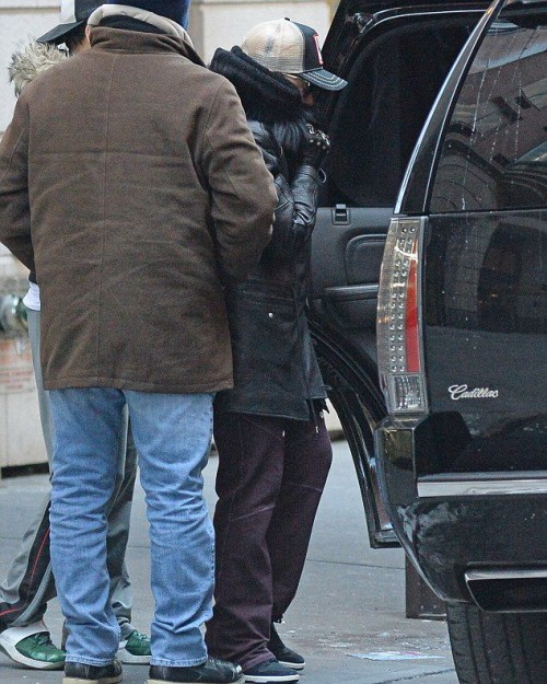 Madonna out and about in New York - 10 January 2015 (4)