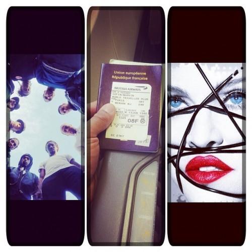 Details on Madonna's Living for Love music video - Dancers