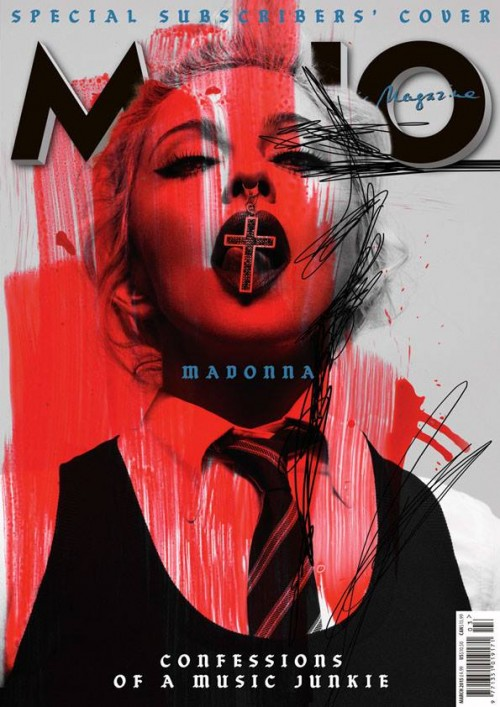 Madonna for MOJO Magazine: I like people who think outside the box like Kanye West and Diplo