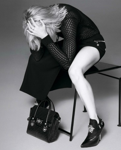 Madonna photoshoot for Versace Spring/Summer 2015 revealed - Update 05v1 no logo