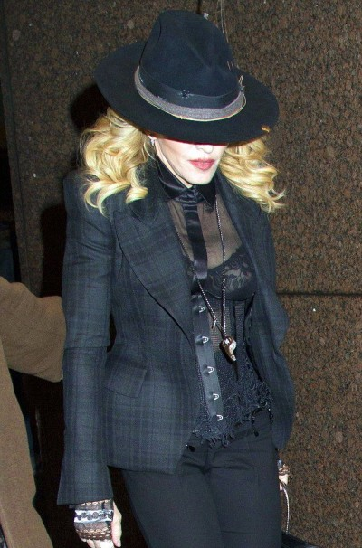 Maodnna out and about in New York - 24 January 2015 - Pictures 01