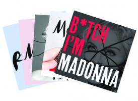 Rebel Heart Australia version with bonus postcards