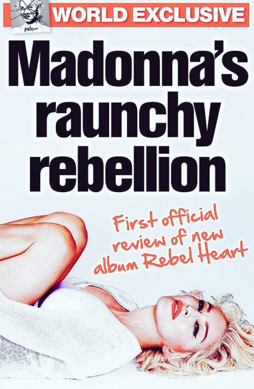 Madonna Rebel Heart The Sun Bizarre
