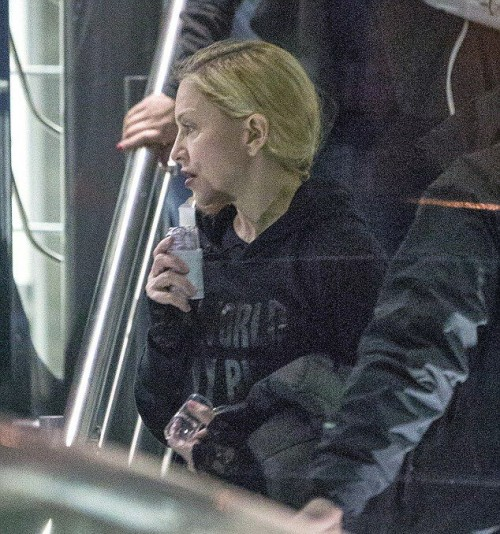 Madonna leaves rehearsals at the O2, London - 22 February 2015 - Pictures (7)