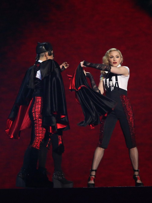 Madonna performance at the BRIT Awards - 25 February 2015 (1)