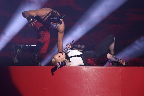 Madonna performance at the BRIT Awards - 25 February 2015 (2)