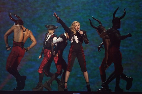Madonna performance at the BRIT Awards - 25 February 2015 (4)