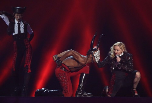 Madonna performance at the BRIT Awards - 25 February 2015 (5)