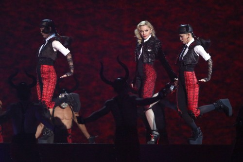 Madonna performance at the BRIT Awards - 25 February 2015 (6)