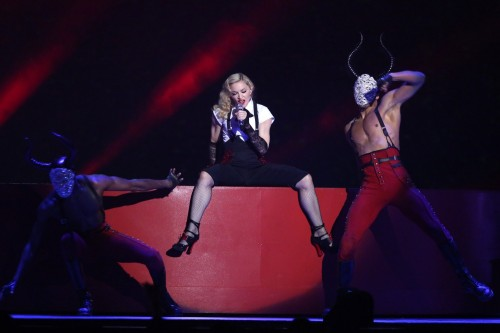 Madonna performance at the BRIT Awards - 25 February 2015 (8)