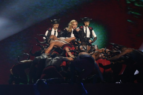 Madonna performance at the BRIT Awards - 25 February 2015 (9)
