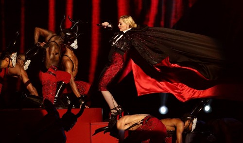 Madonna performance at the BRIT Awards - 25 February 2015 (11)