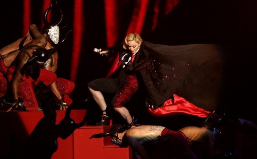 Madonna performance at the BRIT Awards - 25 February 2015 (12)