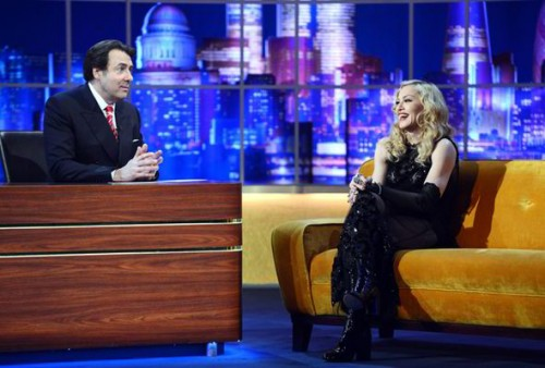 Madonna Jonathan Ross Show Taping 01