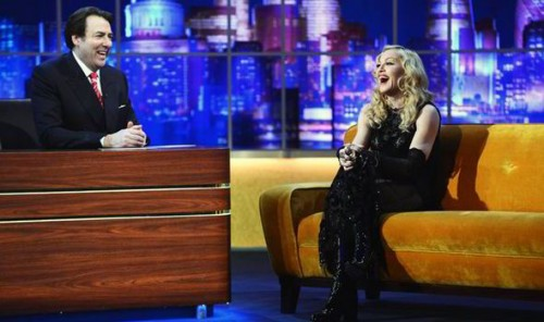 Madonna Jonathan Ross Show Taping 02